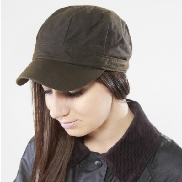 Barbour Accessories - Barbour Waxed Baker Boy Hat dc4deab1c36